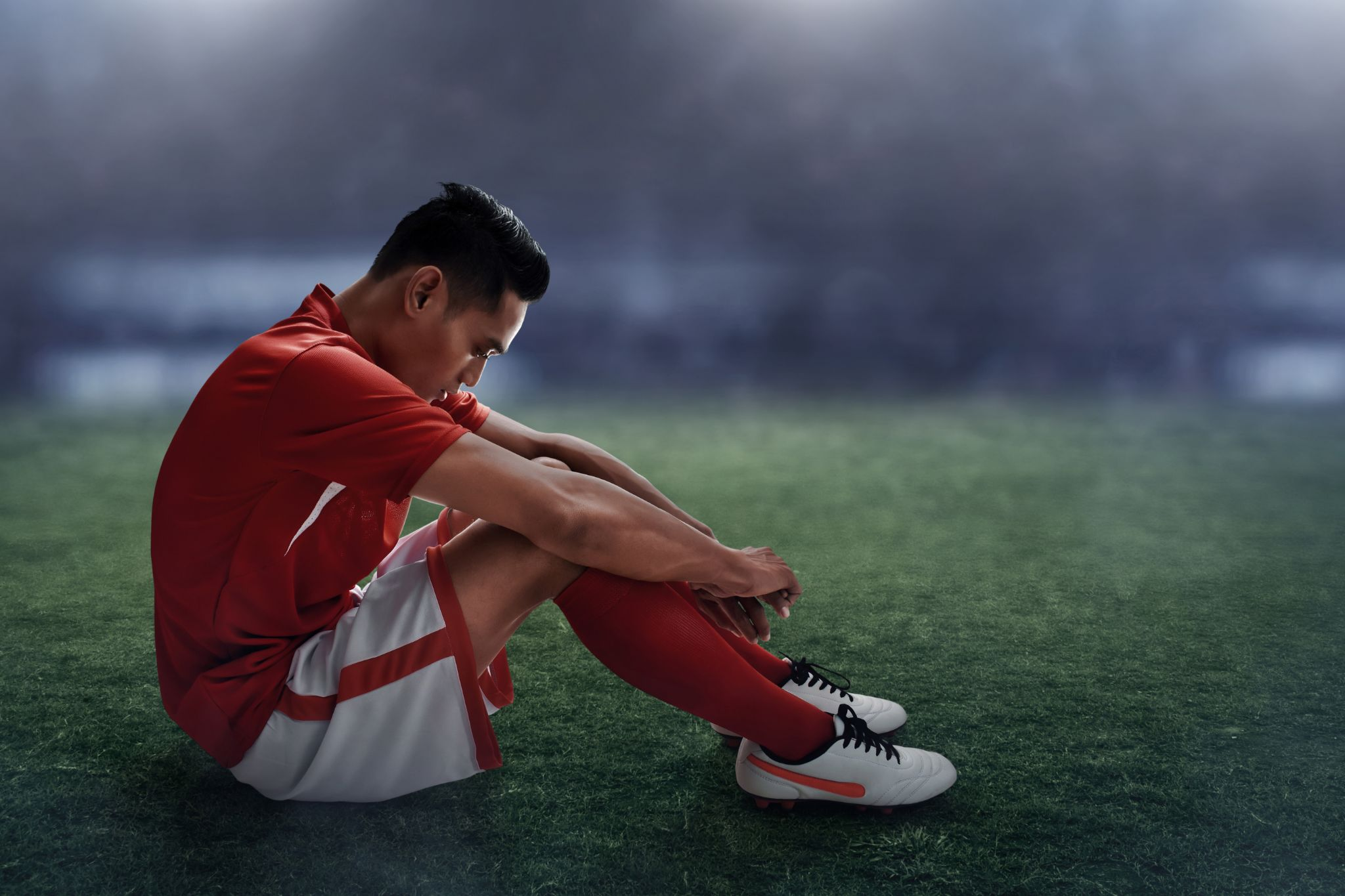 Soccer player lose